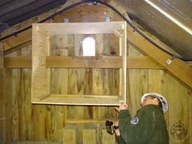 Barn Owl Internal Provision Fitting Floor2