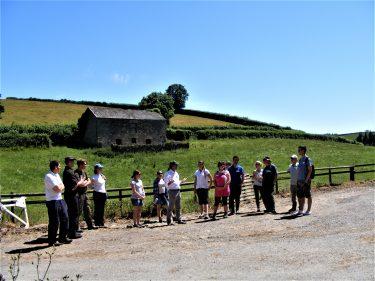 BOESS Training Field Trip Baddaford Farm David Ramsden