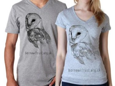 Barn Owl T Shirt Male Female