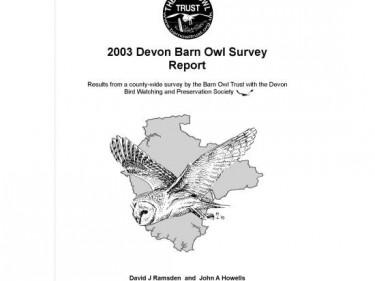 Barn Owl Trust 2003 Devon Barn Owl Survey Report