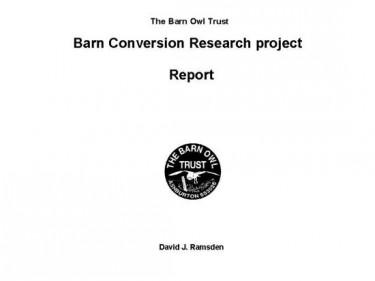 Barn Owl Trust Barn Conversion Report