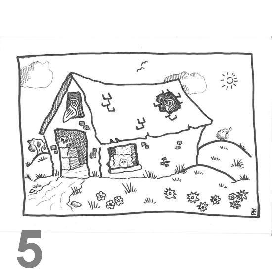 Barn Owl Trust Barn Owl Bliss A6 Black & White Card