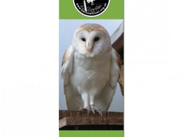 Barn Owl Trust Bookmark Hazel