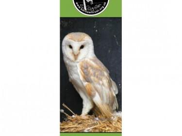 Barn Owl Trust Bookmark Vinny