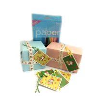 Barn Owl Trust Christmas Gift Wrap Displayed