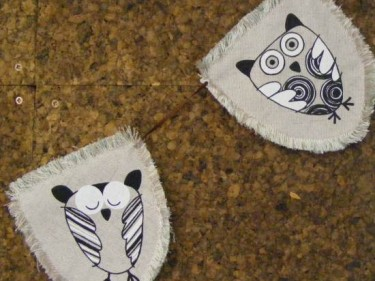 Barn Owl Trust Cloth Bunting 1 And 2