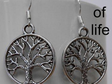 Barn Owl Trust Earring Tree Of Life