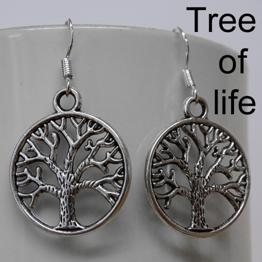 Barn Owl Trust Earring Tree Of Life