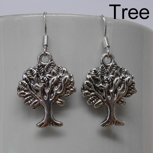 Barn Owl Trust Earring Tree