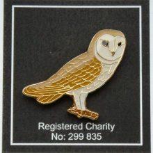 Barn Owl Trust Enamel Pin Badge