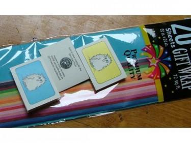 Barn Owl Trust Gift Wrap 2 Tags
