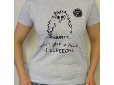 Barn Owl Trust Give A Hoot Adult T Shirt