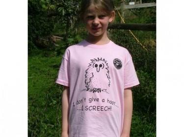 Barn Owl Trust Give A Hoot Childrens T Shirt