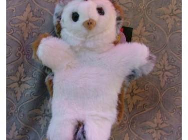 Barn Owl Trust Glove Puppet 1