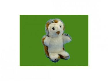 Barn Owl Trust Glove Puppet Sitting