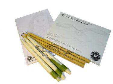 Barn Owl Trust Home Office Stationery Set