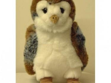Barn Owl Trust Large Cuddly Owl Plain Background