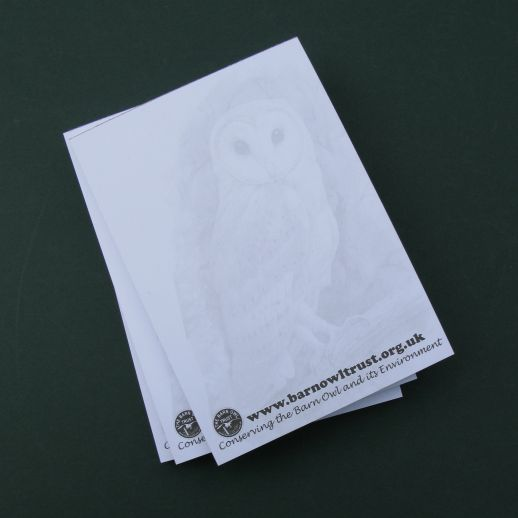 Barn Owl Trust Owl Note Pads