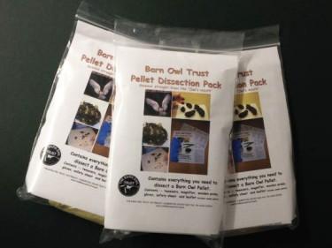 Barn Owl Trust Pellet Dissection Packs