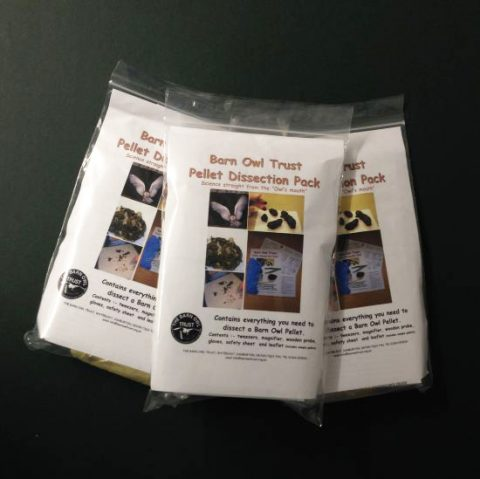 Barn Owl Trust Pellet Dissection Packs