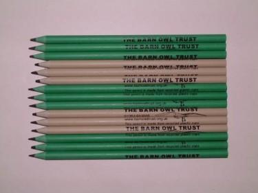 Barn Owl Trust Recycled Pencils