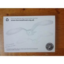 Barn Owl Trust Reuse Label Pad