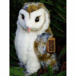 Barn Owl Trust Soft Toy Barn Owl Close Up