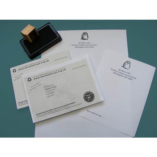 Barn Owl Trust Stationery Pack