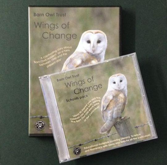 Barn Owl Trust Wings Of Change DVD & Schools Pack