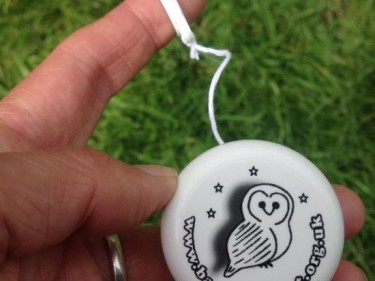 Barn Owl Trust Yoyo In Hand