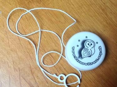 Barn Owl Trust Yoyo With String