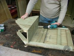 Barn Owl Pole-Mounted Nestbox Construction 11
