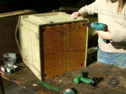 Barn Owl Pole-Mounted Nestbox Construction 15