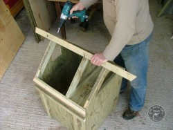 Barn Owl Pole-Mounted Nestbox Construction 18