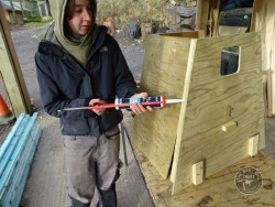 Barn Owl Tree Nestbox Construction 11