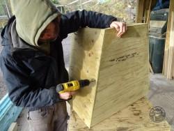 Barn Owl Tree Nestbox Construction 16