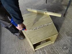 Barn Owl Tree Nestbox Construction 20