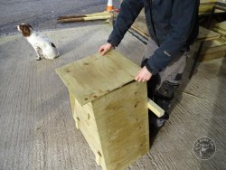 Barn Owl Tree Nestbox Construction 26