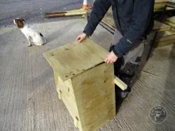Barn Owl Tree Nestbox Construction 26