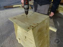 Barn Owl Tree Nestbox Construction 27