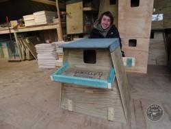 Barn Owl Tree Nestbox Construction 40
