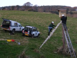 Erecting A Polebox By Hand 11