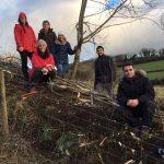 Hedgelaying Volunteers In The LLP Wildlife Diary December 2017