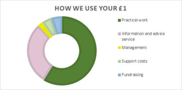 How we use your £1 2020