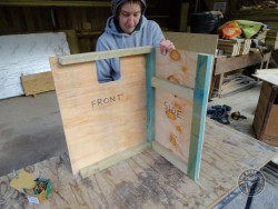 Indoor Barn Owl Nestbox Construction 04