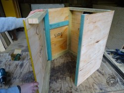 Indoor Barn Owl Nestbox Construction 08