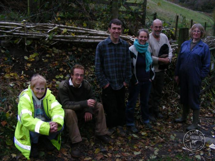 LLP Hedge Laying Team