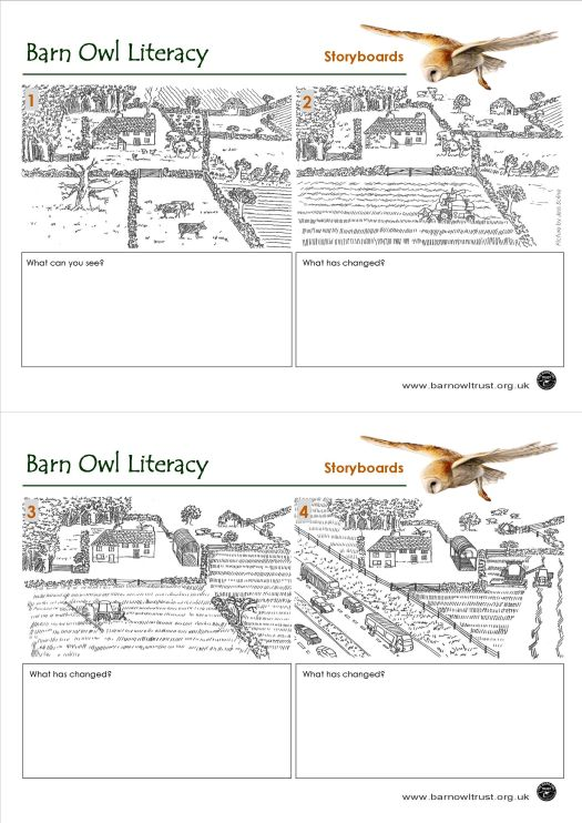 Literacy Storyboard Worksheet