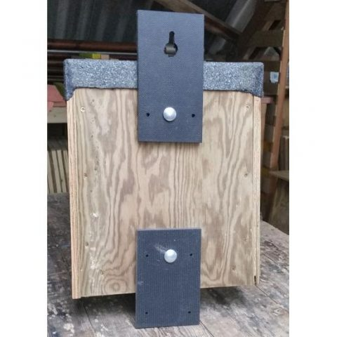 Little Owl Nestbox Back