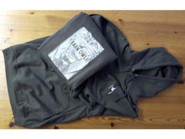 Olive Block Hooded Sweatshirt 2